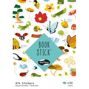 Libro pegatinas Botanic