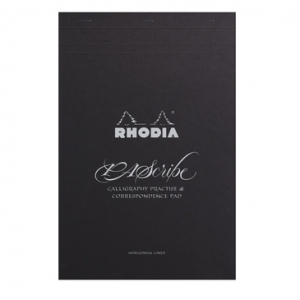 Rhodia PAScribe Carb On Pad Black A4