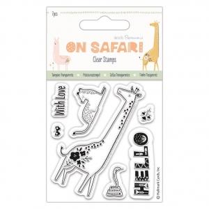 Sellos clear jirafa 8x9 cm