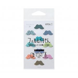 Set marcadores Mini moustache
