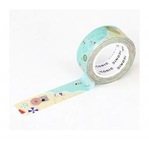 Washi tape 038 Summer beach - Iconic