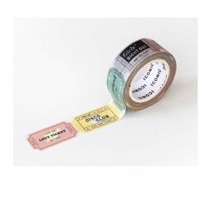Washi tape 036 Ticket - Iconic