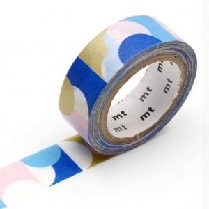 Washi Tape Circle Pink Blue mt