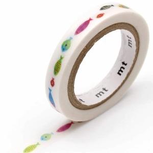 Washi Tape Slim Fish line mt