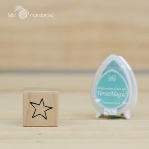 Sello estrella mini 2.5 cm