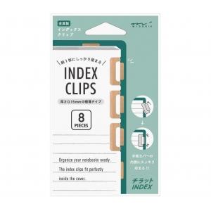 8 Index clip tono cobre