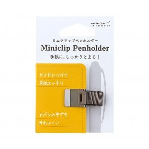 Mini Clip Pen Holder Negro