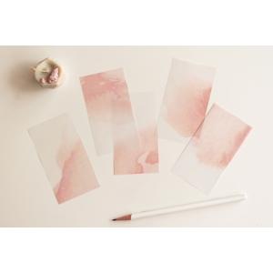 25 recortes papel calco N06 (5.5x10cm)