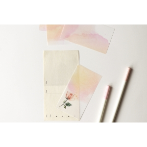 25 recortes papel calco N05 (5.5x10cm)