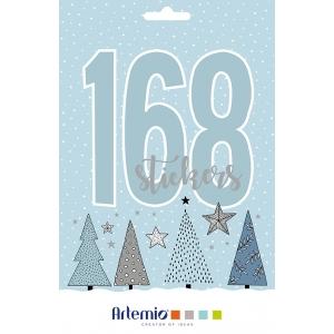 168 pegatinas Cosy Christmas