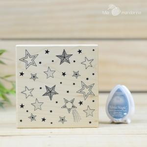Sello Estrellas Cosy Christmas