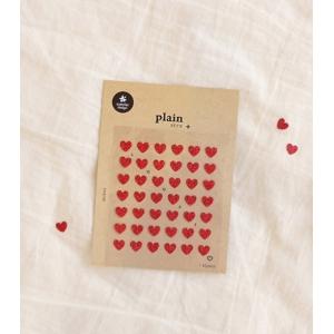 1 Hoja Pegatinas Plain 14
