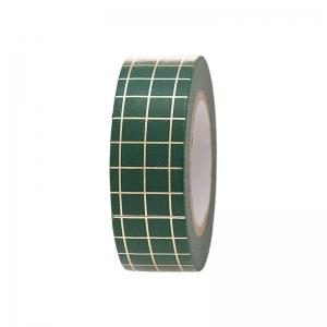 Washi tape Xmas green-gold
