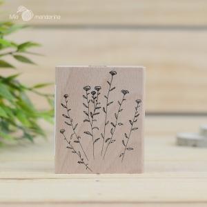 Sello Anise flower pequeño (6x7 cm)