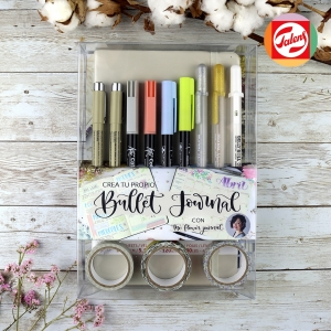 Kit Crea tu Bullet journal - Gris claro