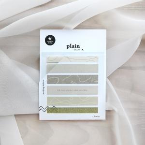 3 Hojas Pegatinas Plain 47