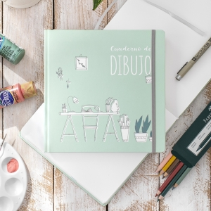 Cuaderno de Dibujo 20x20 cm
