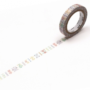 Washi Tape Slim embrodery mt