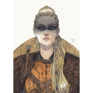 Vikinga - Lámina A4 Esther Gili