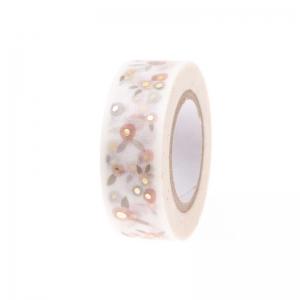 Washi tape Blossom powder/gold