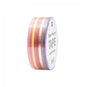 Washi tape Líneas red