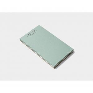 Caprice Memo Pad - Turquoise