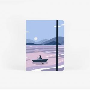 Cuaderno acuarela Moon lake