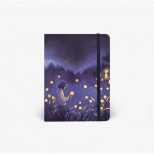 Cuaderno acuarela Fireflies