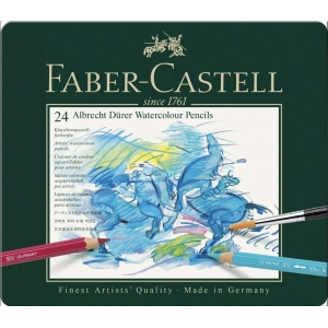 24 Albrecht Dürer Faber Castell (estuche metal)