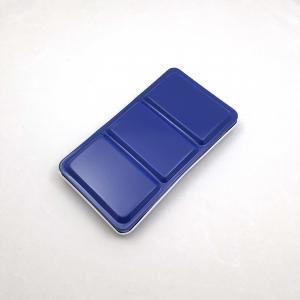 Caja vacía para 14 godets de acuarelas White Nights - Azul (Urbansketcher)