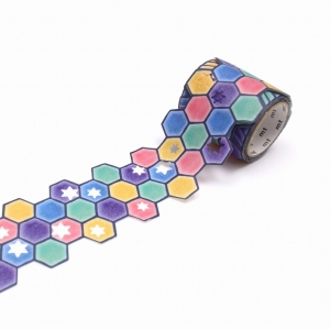 Washi Tape Star and Tiles mt