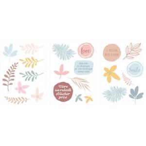Pegatinas de Cartón Slow Life (3 hojas)
