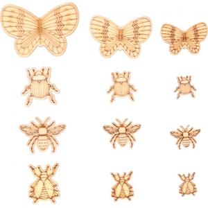 Surtido 33 mini siluetas Insectos