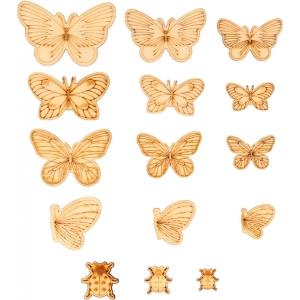 Surtido 21 mini siluetas Mariposas