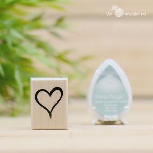 Sello Corazón 2.5 x 3.5 cm