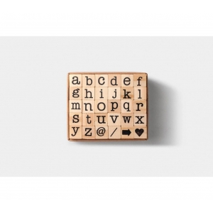 Mini set sellos - Alfabeto minúsculas