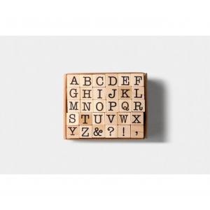 Mini set sellos - Alfabeto mayúsculas