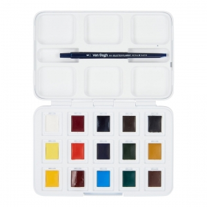 Caja 12+3 acuarelas Van Gogh (Pocket)