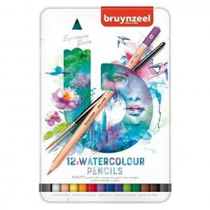 12 lápices acuarelables Bruynzeel