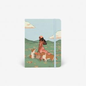 Cuaderno acuarela Spring Collies