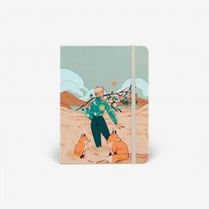 Cuaderno acuarela Autumn Foxes