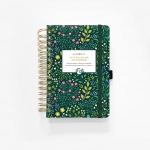 Cuaderno A5 Watercolour - Verdant Ventures