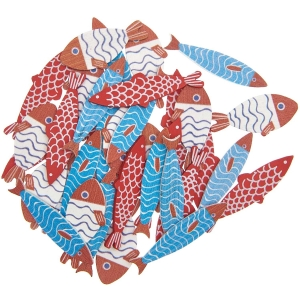 36 siluetas peces colores