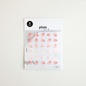 3 Hojas Pegatinas Plain 63