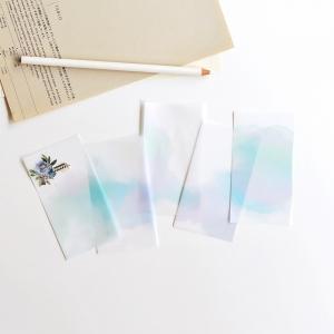 20 recortes papel calco N10 (5.5x10cm)