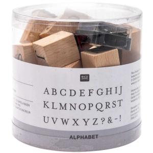 30 sellos letras mayúsculas
