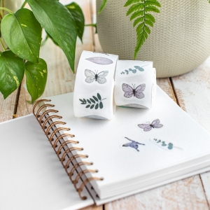 Washi sticker roll Mariposa