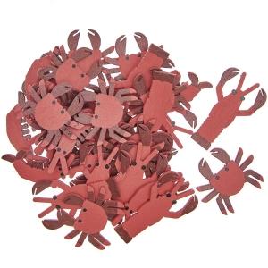 36 siluetas crustáceos color