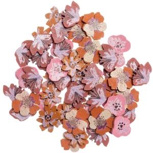 48 siluetas flores rosas