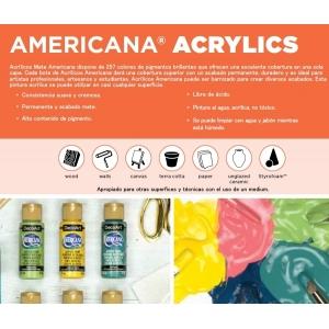 Acrílicos Azules Americana